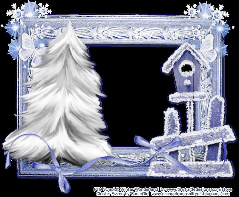 by codiegirl - Winter Picture Frames