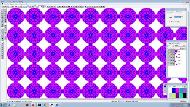 batik pattern anseries