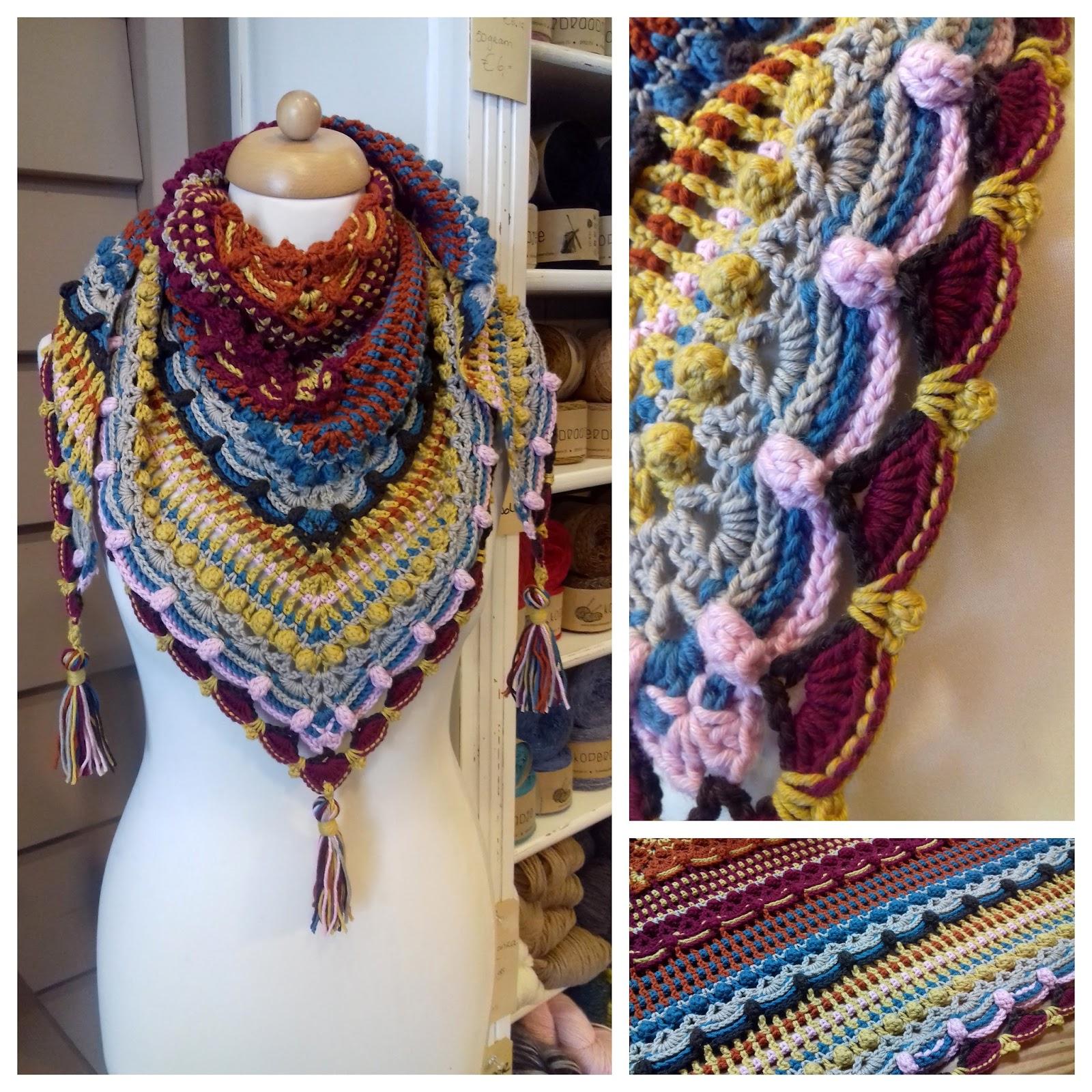 Crochet Of Joy Lost In Time Shawl