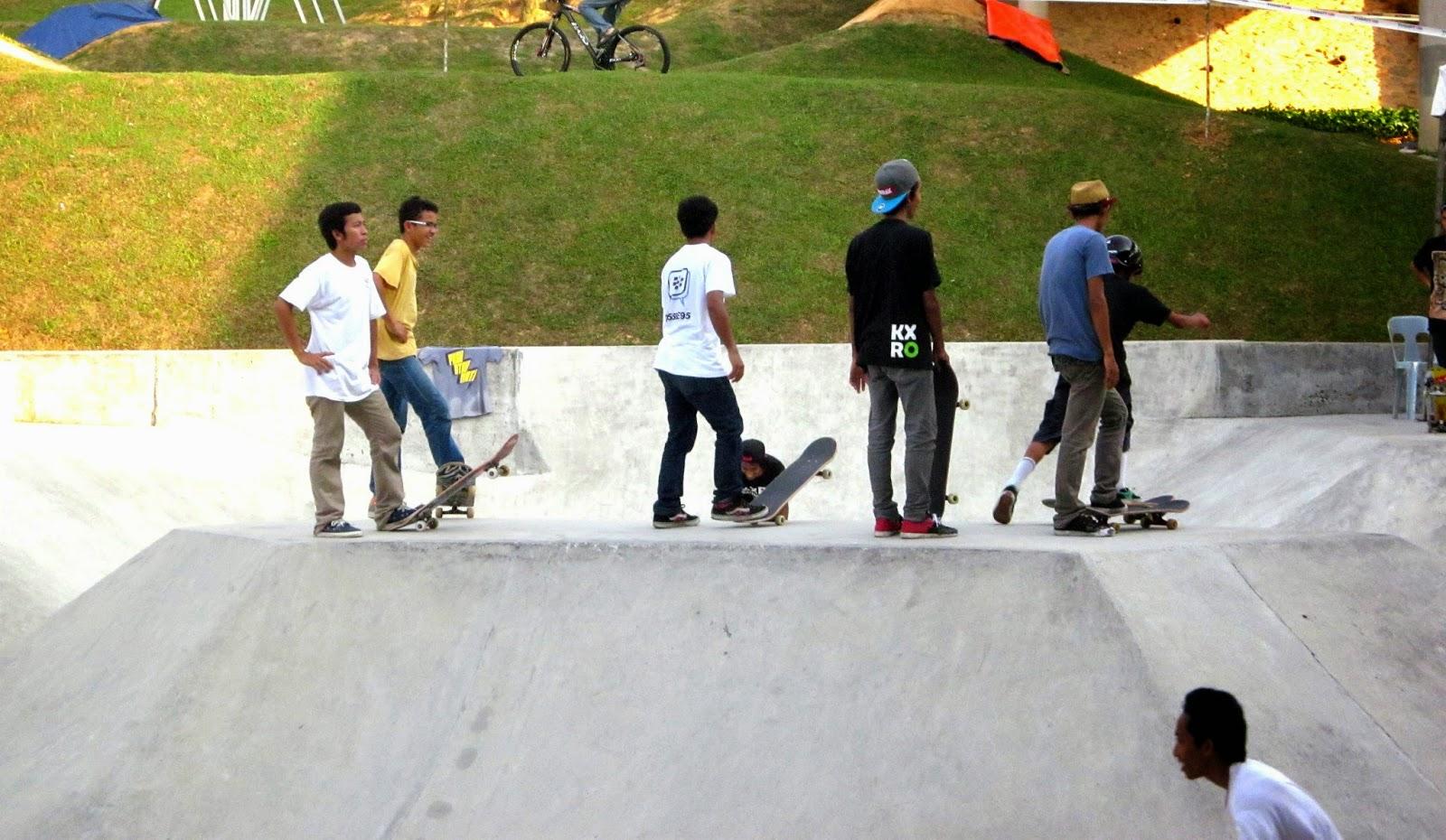 Skateboard di Malaysia