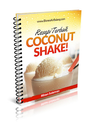 Resepi Coconut Shake