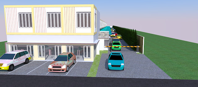 Layout Townhouse