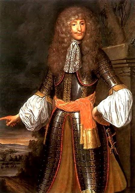 O príncipe Ernst Rüdiger von Starhemberg, comandou as forças austríacas na defesa de Viena