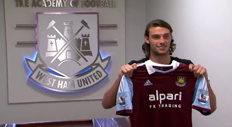 612712805 West Ham 13-14 (2013-14) Home Kit Released + Away
