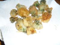 fiori di tarassaco fritti pastella senza uova