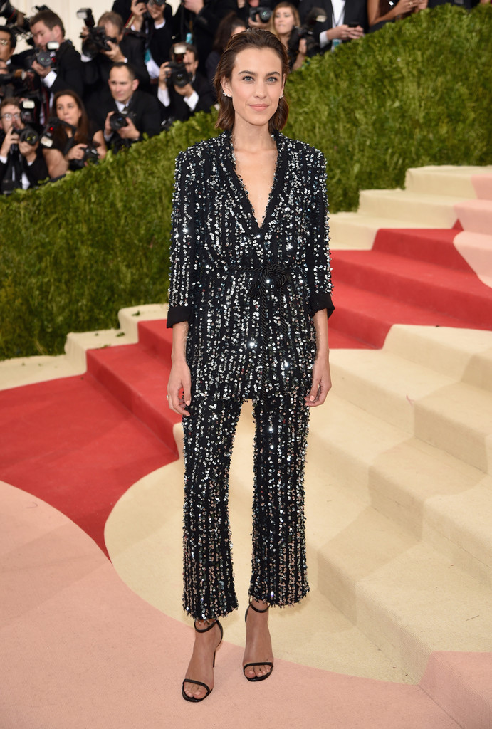 Alexa Chung at the 2016 MET Gala