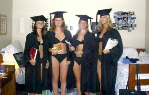 what to wear graduation ceremony under gown