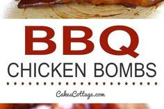 BBQ Chicken Bombs