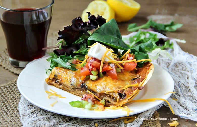 Fiesta Lasagna #homemade #recipe