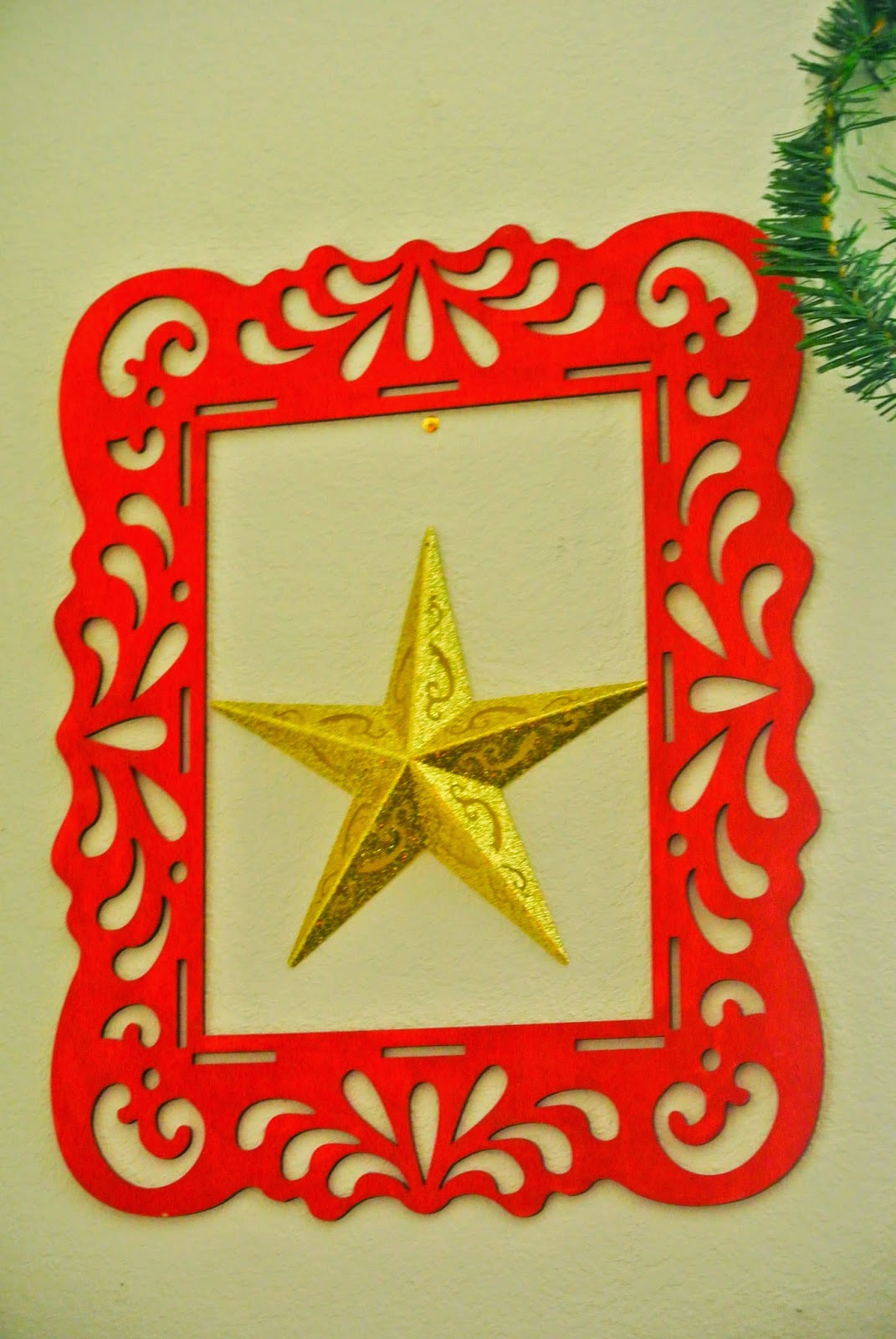 star, holidays, wall decor