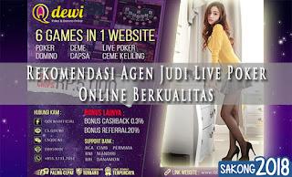 Rekomendasi Agen Judi Live Poker Online Berkualitas