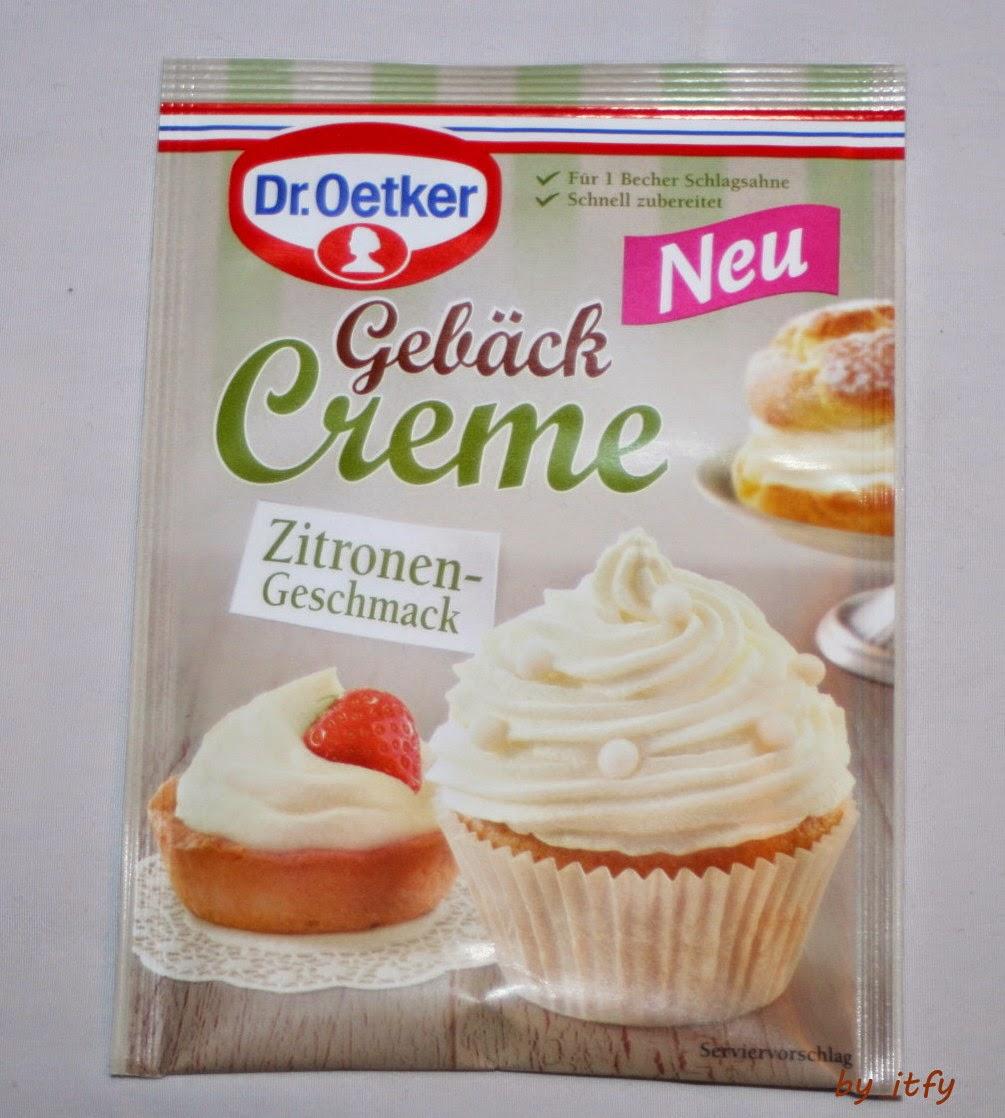 i test for you leckere cupcakes mit der dr oetker geb ck creme zitrone. Black Bedroom Furniture Sets. Home Design Ideas
