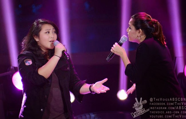 Watch Rizza Cabrera and Carol Leus of Team Sarah's The Voice Final Battle Rounds December 20
