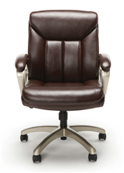 Brown Leather Office Chair Under $100.00