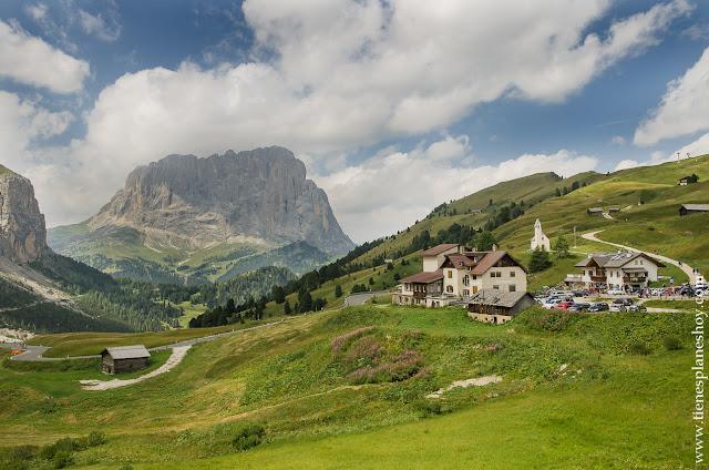 Passo di Gardena viaje Dolomitas Italia