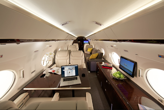 The ultimate private business jet (Gulfstream G650) by Jose Ferreiro