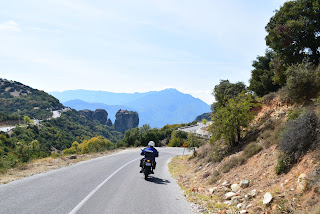 motorcycle Holiday Greece, Meteora