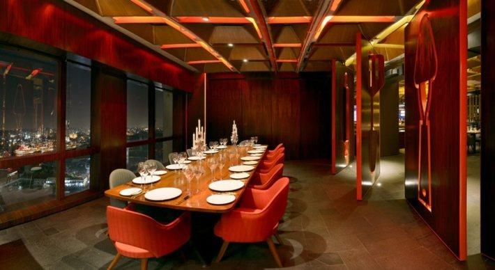 nhà hàng quán ăn thiết kế độc 6