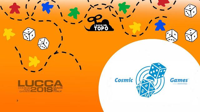 """""""Lucca Comics & Games 2018"""", le grandi novità di Cosmic Games"""
