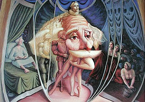 Metamorfose no Amor - Octavio Ocampo e Suas Pinturas Cheias de Ilusões