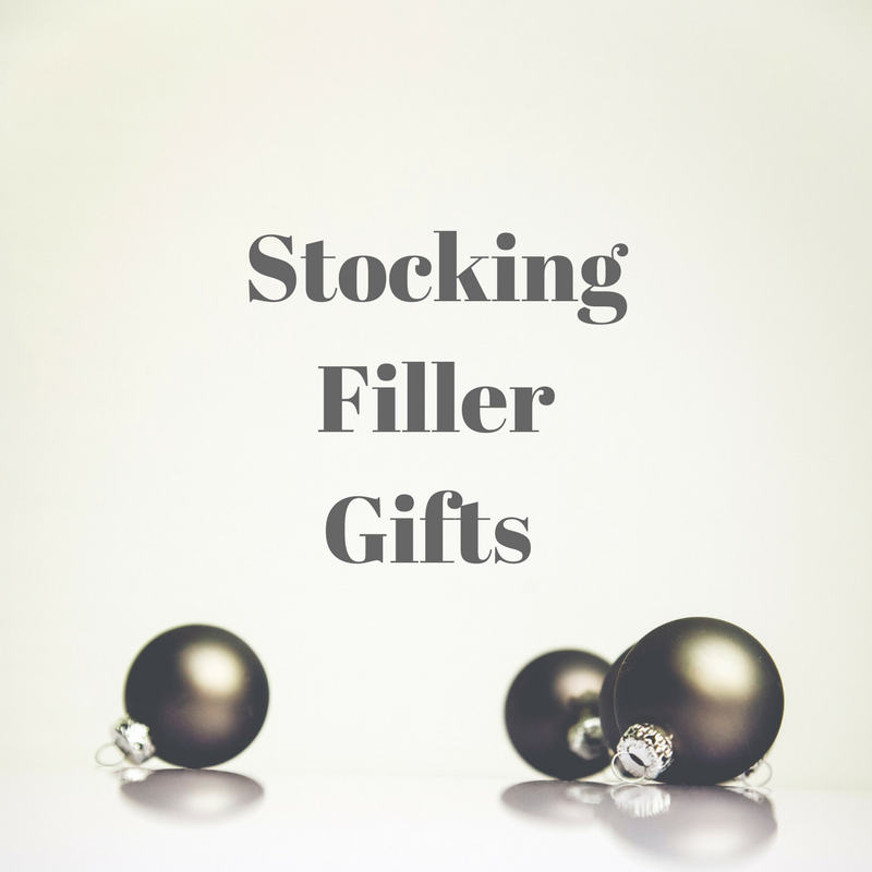 Stocking Filler Gifts Title