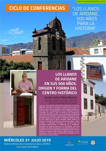 Los Llanos reivindica el interés de declarar el casco urbano como Conjunto Histórico