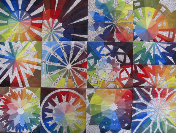 Art At Woodstock Design Color Wheel