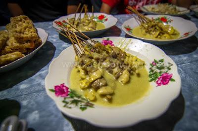 Satay de Kopok, Satay típico de Ponorogo