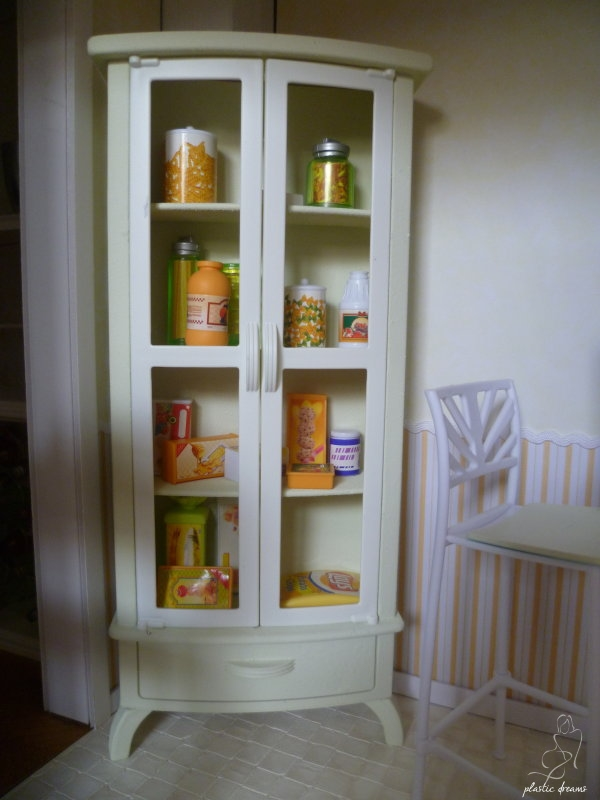 armoire cuisine Barbie