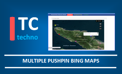 How to Create Multiple Pushpin in Bing Maps