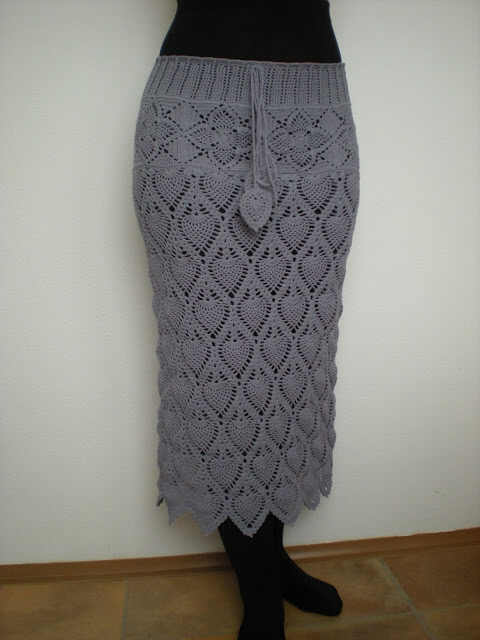 Crochet Skirts Free Pattern Step By Step And Graph