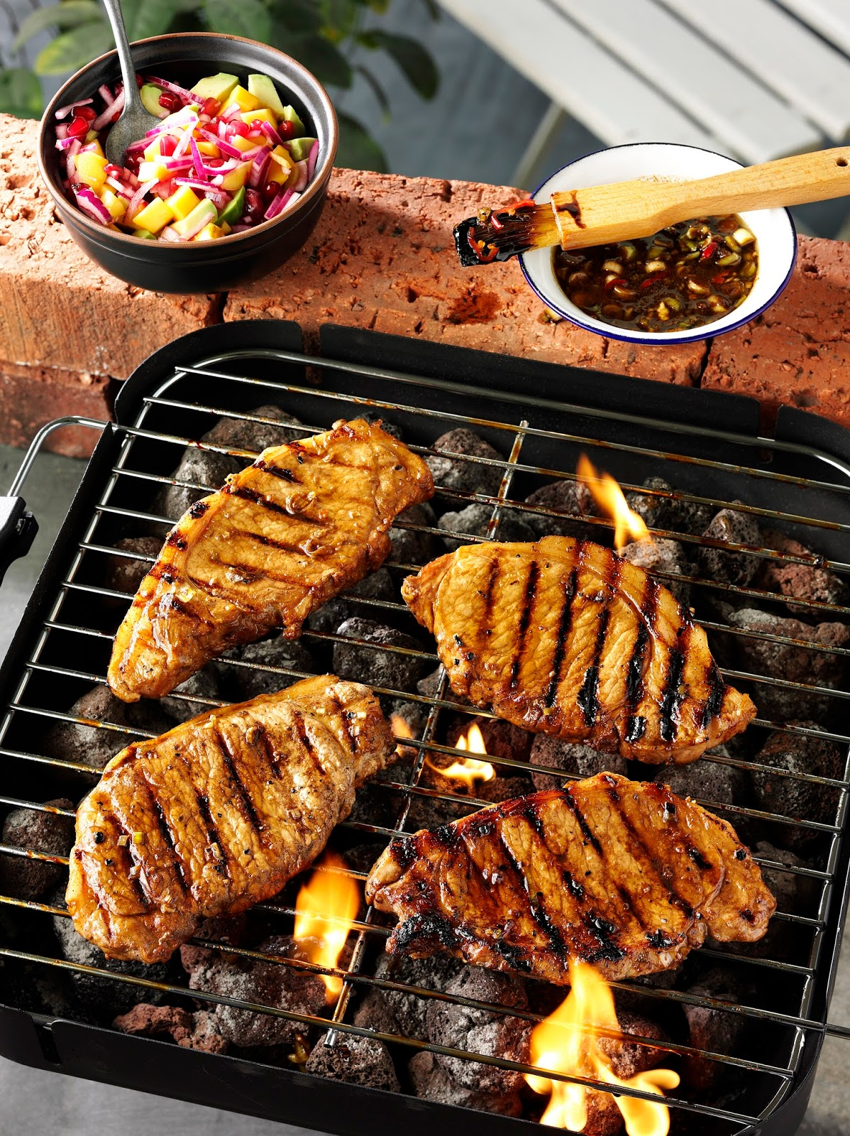 Treacle And Spice Marinated Pork Steaks…
