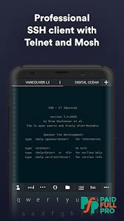 Termius SSH SFTP and Telnet client Mod APK
