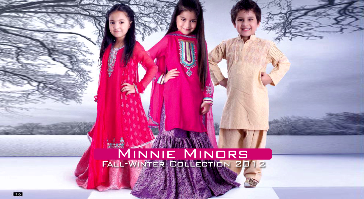 Minnie Minors Fall Winter Collection 2012 Kids Wear