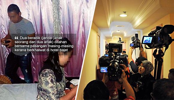 'Habislah kena kecam dengan Makcik Bawang' - 2 janda beradik ditangkap khalwat di hotel bajet