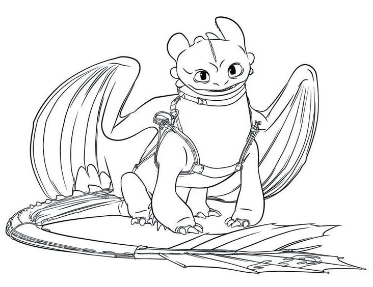 Tranh tô màu Răng Sún bí kíp luyện rồng