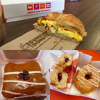 Dunkin Donuts summer breakfast sandwiches and donuts