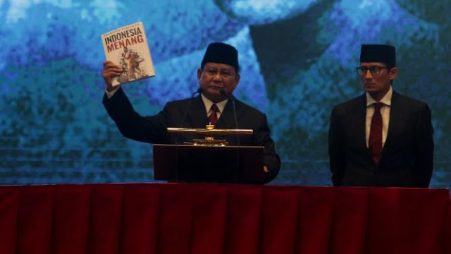 Dianggap Pesimis Soal Indonesia, Prabowo Bicara Perang