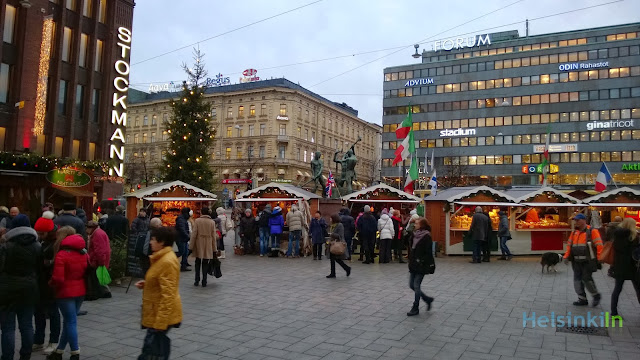 international Christmas market