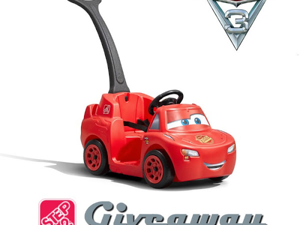 It's a Step2 Cars 3 Ride Around Racer Giveaway!