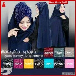 RYB083B Hijab Jilbab Cantik Khimar Murah Syar BMG Online Shop