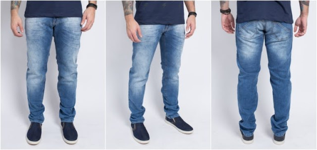 calça jeans masculina o'born lu tudo sobre tudo
