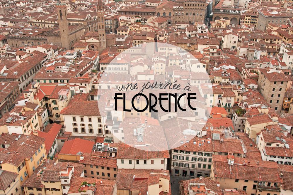 Toits de Florence vu du Duomo