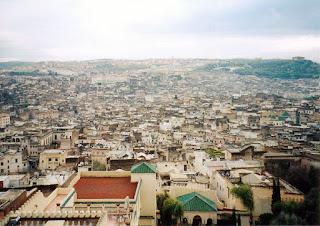 Kota Fez - Maroko