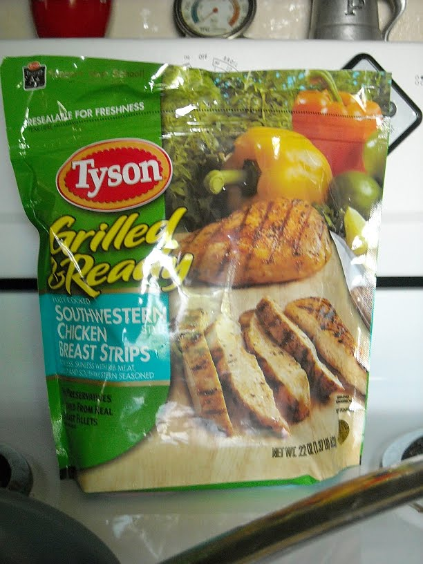 Tastemaker Roasted Pepper And Chicken Fajitas With Tyson Grilled And Ready Frozen Chicken Breast