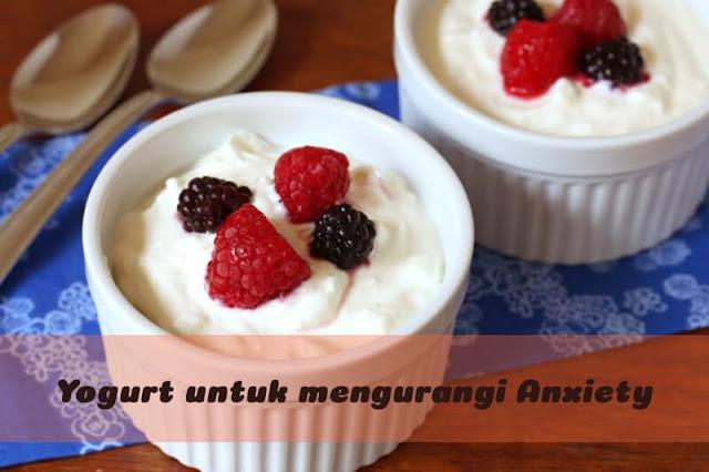 konsumsi yogurt untuk mengurangi anxiety