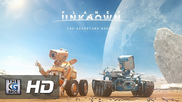Cartel del corto de animación en 3D Planet Unknown