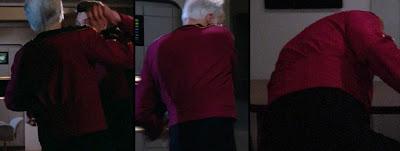 TNG season 1 admiral uniform - side and back pleats