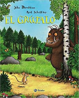 mejores cuentos infantiles, libros preferidos niños, el grúfalo julia donaldson