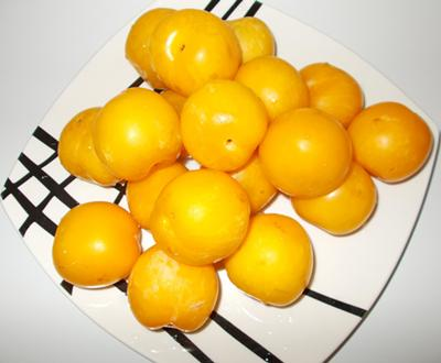 geleia de ameixa amarela